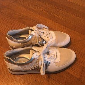Michael Kors Silver Women's Sneakers